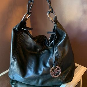 Michael Kors leather hobo handbag